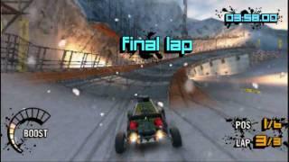 MotorStorm Arctic Edge PSP Online Gameplay