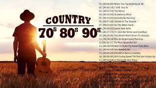 Best Old Country Songs Of 70s 80s 90s  // Top 100 Best Classic Country Songs Ever
