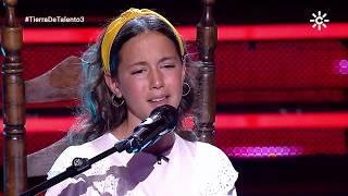 Actuación Erika Martín fase admisión 'Tierra de Talento 2'