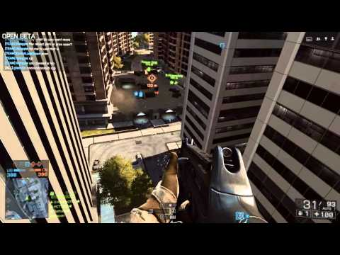 Battlefield 4 Beta Siege of Shanghai Conquest Map GamePlay Video First Look