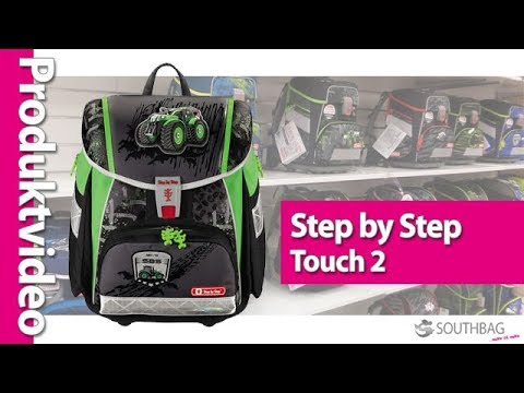 step by step schulranzen touch 2 produktvideo youtube. Black Bedroom Furniture Sets. Home Design Ideas