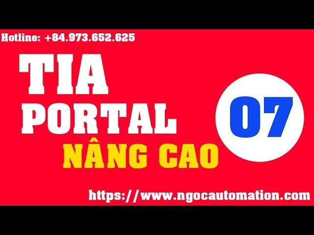 TIA portal nâng cao 07 - Code C script trong tia portal