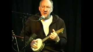 Pete Townshend - Blue, Red & Grey - (On Banjo!) Live 2005