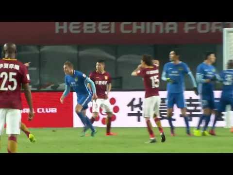 Hebei China Fortuna 1x0 Guizhou Hengfeng   Hernanes First Goal