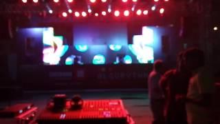 Dj night at Chitkara university baddi