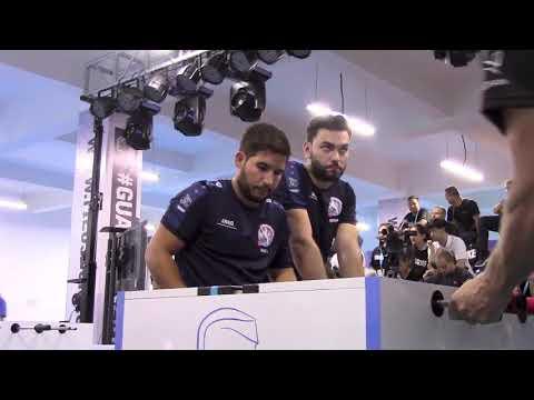 SemiFinal Dias/Ferreira vs. Kirsch/Yore at the ITSF Master Series on Guardian