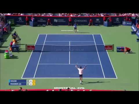 Roger Federer advances to his second final in Montreal