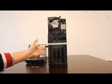 Mars VN4510 4 tube mdb coin mech changer vending machine repair