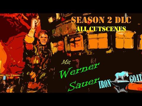 Zombie Army 4: Dead War - Season 2 DLC All Cutscenes - Werner Sauer |