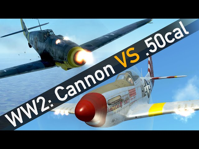 The Ugly Truth: Cannons better than .50cal?