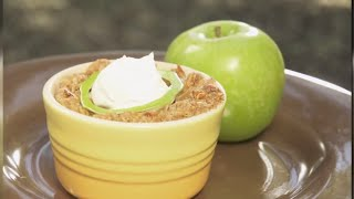 Bringing It Home - Chef Cat Deorio - Almond Apple Crisp