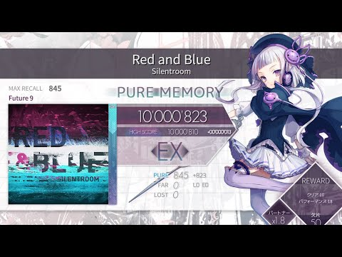 [Arcaea] Red And Blue (Color Reverse) FPM 10'000'823pts (MAX -22)