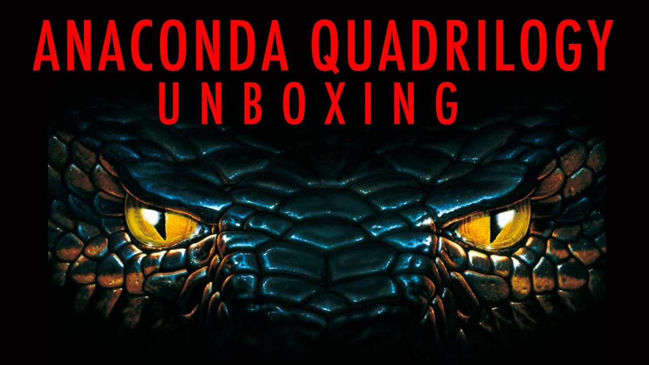 Download Anaconda Quadrilogy Unboxing | 88 Films | Blu Ray |