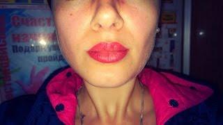Татуаж губ | Коррекция спустя сутки