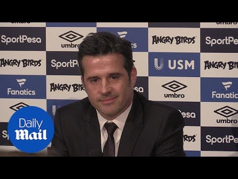 New Everton manager Marco Silva in first press conference - Daily Mail
