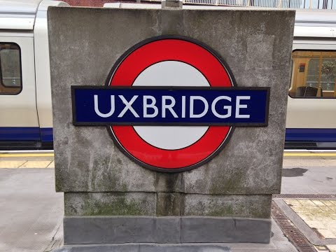 Full Journey on London Underground Metropolitan line from Baker Street to Uxbridge (all stations)