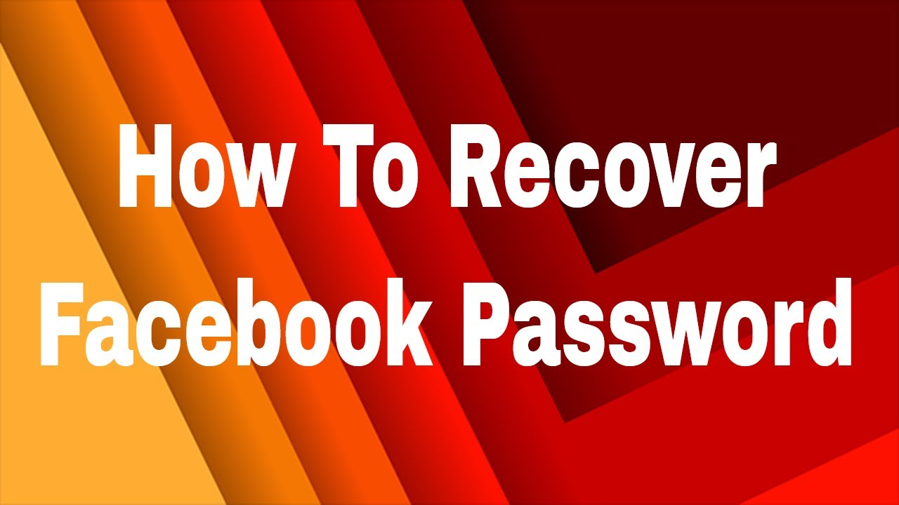 How To Recover Facebook Password With Confirmation Reset Code 2017