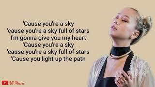 Lirik! A Sky Full Of Stars - Coldplay (Cover by Gloria Jessica)