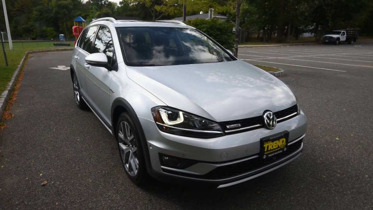 brand new 2017 volkswagen golf alltrack 4motion sel all wheel drive at trend motors vw youtube. Black Bedroom Furniture Sets. Home Design Ideas