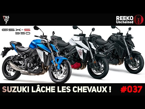 GSXS 950 2021, GSXS 1000 T & MINI ESSAI GSXS 1000 2021 SUZUKI   NEWS MOTO 🔴REEKO Unchained