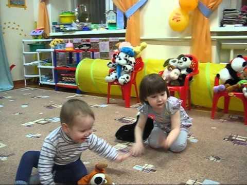 Видеозапись театрализованные игры для малышей
