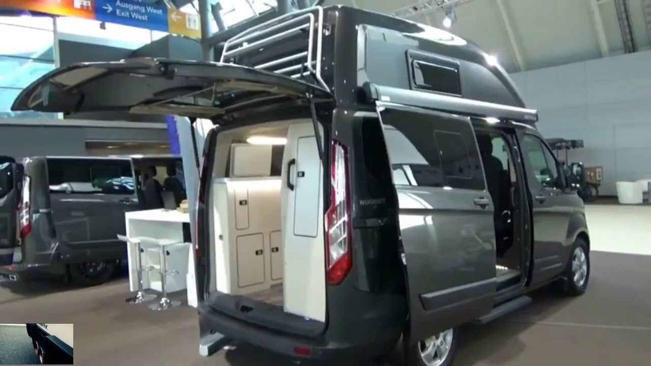 2018 Ford Transit Custom Westfalia Nugget Autotage Stuttgart Youtube