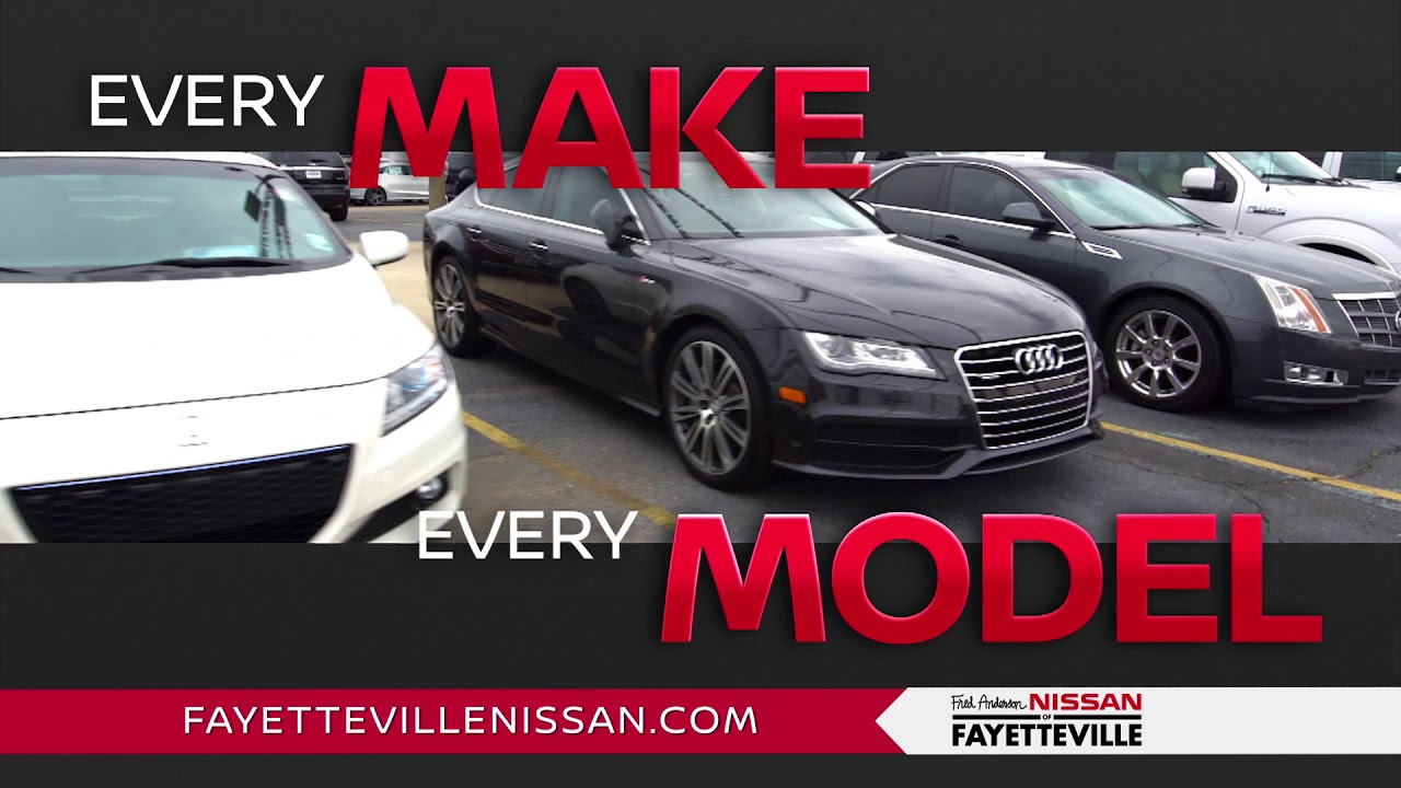 Fred Anderson Nissan Of Fayetteville   Trade U0026 Save