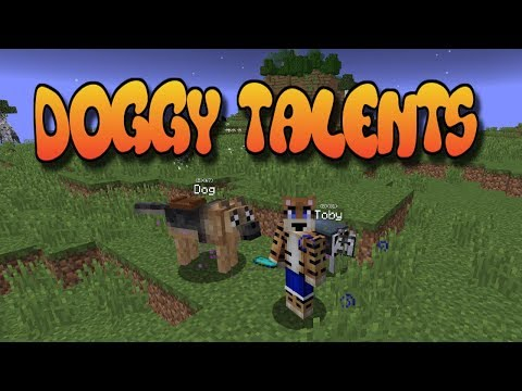 Doggy Talents Mod Showcase (Minecraft 1.12.2)