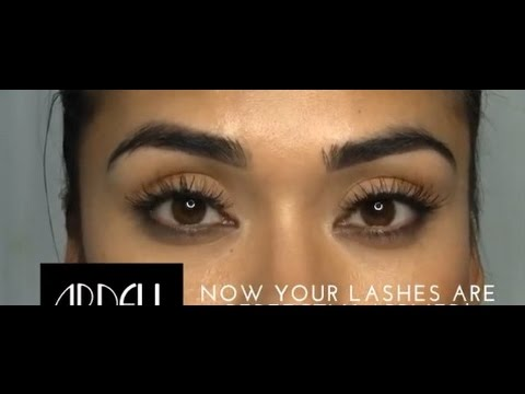 ee32d3c9519 Ardell How to Apply Strip Lashes - YouTube