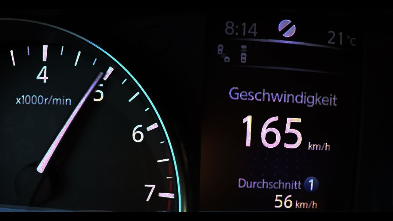 2018 Nissan Qashqai 1 2 DIG-T 4x2 0-100 kmh kph 0-60 mph Tachovideo  Beschleunigung Acceleration