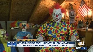 Cali Killa Clowns defend local scares but say don