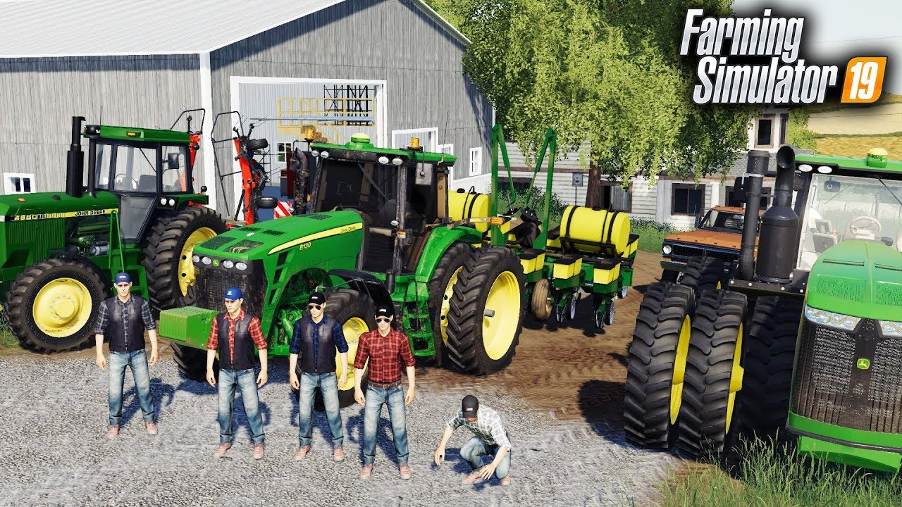 FS19- SPRING TILLAGE & PLANTING! HIRING 5 NEW EMPLOYEES ON THE FARM (LIVE)