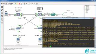 EtherChannel configuration with GNS3: CCNA 200-125 Campus Network
