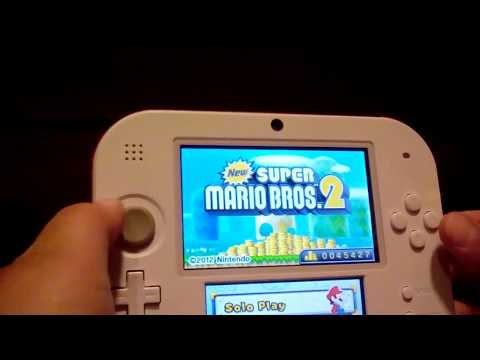 New super Mario bros. 2 walkthrough