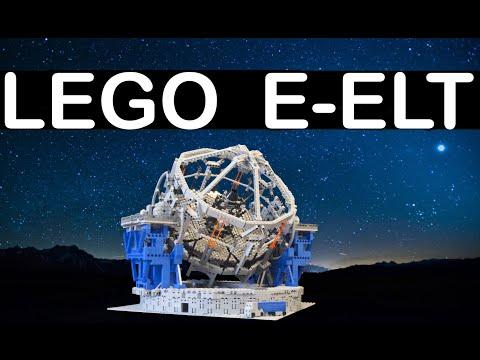 European Extremely Large Telescope (E-ELT) aus LEGO® Bausteinen