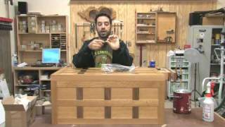 85 - How To Build A Steamer Trunk (part 4 Of 4)