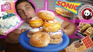 25,000 CALORIE BIRTHDAY CHEAT DAY CHALLENGE