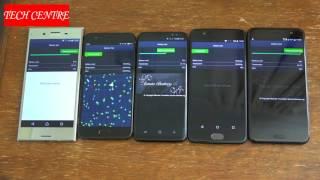 Galaxy S8 VS XZ Premium VS OnePlus 5 VS Mi6 VS HTC U11 Tests..Surprising Results!!!