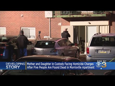 Mother Arraigned After 5 Family Members Found Dead Inside Bucks County Apartment