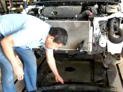 toyota corolla front end damage frame repair explained by cars
