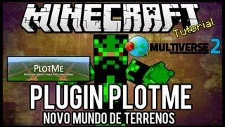 [Tutorial]Plotme - Novo Mundo de Terrenos Minecraft