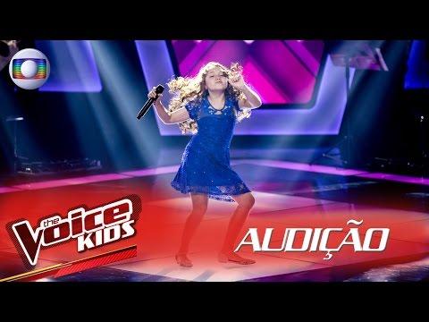Flavia Scanuffo canta Splish Splash na Audição – The Voice Kids Brasil  2ª Temporada