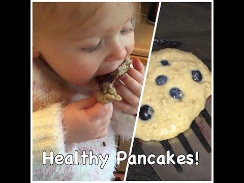 Quick & Healthy Blueberry Pancakes   Kids Breakfast Ideas   My Fashion Cupboard Baby