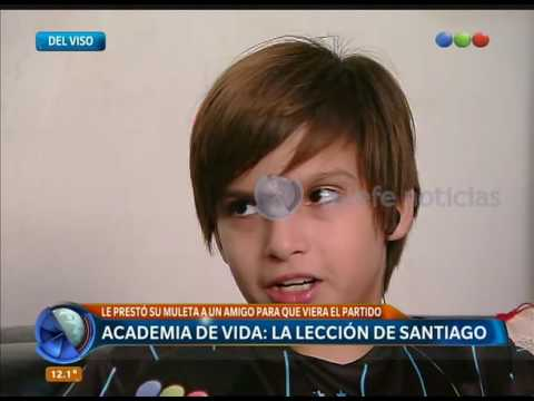 Racing y la lección de Santiago - Telefe Noticias