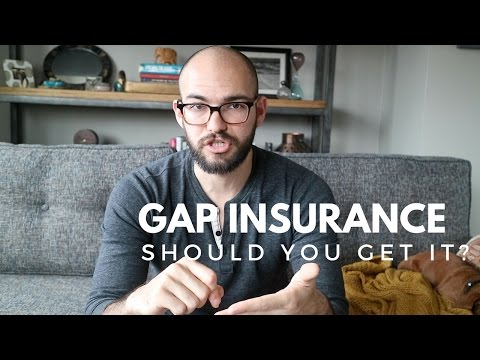 What is GAP insurance?   Should you get it?