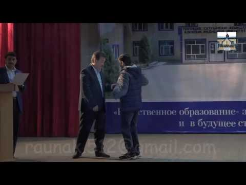 asian medical institute kyrgyzstan 2016. scholarship distribution by founder of asmi