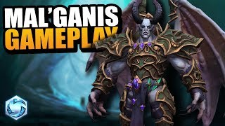 Mal'Ganis gameplay! // Heroes of the Storm PTR