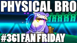 BELLY DRUM SLOWBRO! Pokemon Omega Ruby Alpha Sapphire WiFi Battle! Fan Fridays #361 Pjango