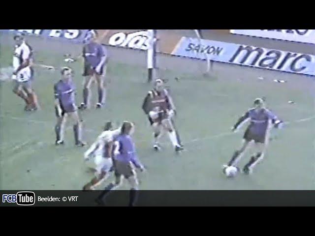 1991-1992 - Jupiler Pro League - 14. RWD Molenbeek - Club Brugge 0-1