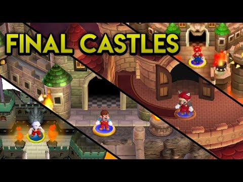 Evolution of Final Castles in the New Super Mario Bros. Series (2006 -2012)